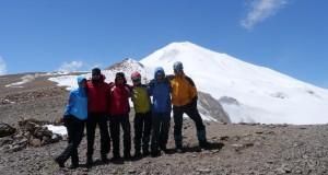 Kavkaz 2013 – část 3. – Větrný Irikchat(Irikčat, Ирикчат) aneb první útok na Elbrus(1.-5.8.2013)