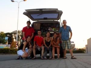 Kavkaz 2013 – část 1. – Cesta na východ – cíl Osmanův kemp