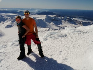 Národní parky Tongariro a Taranaki (12.-20.7.2015)